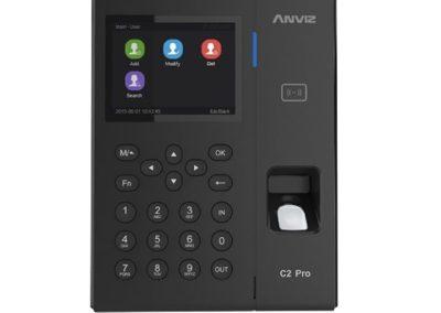 Controlo de Presença e Acesso PoE Impressões, EM RFID e teclado