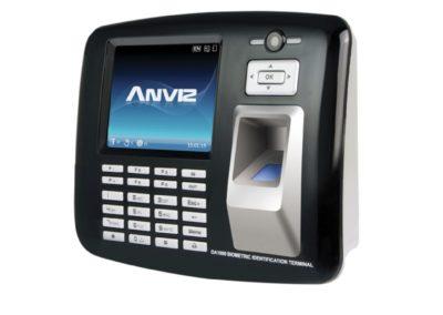 Controlo de Acesso e Presença Impressões digitais, RFID, teclado e Câmara 1,3Mpx