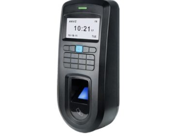 Leitor Biométrico autónomo ANVIZ  Impressões digitais, RFID e teclado