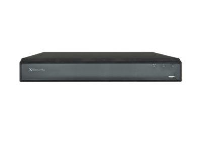 Gravador Universal HDCVI-CVBS-IP 8 CH vídeo  8+4 IP  1 CH áudio